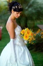 Современные тенденции при выборе свадебных букетов 2017