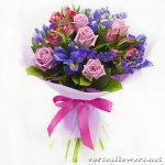 Элегантный подарок – букет цветов с доставкой курьером!
