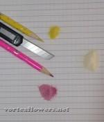 Как сделать тычинки для цветка из ткани