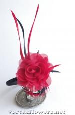 """Ободок с розой """"Кармен"""""""
